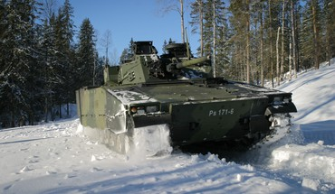 Tracks 2004 armoured personnel carrier cv90 forest HD wallpaper