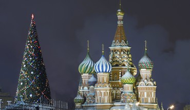 Christmas kremlin moscow russia cathedrals HD wallpaper