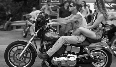 Biker Grau Tintenfisch  HD wallpaper