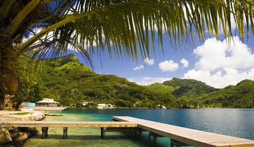 Nature french polynesia tahiti HD wallpaper