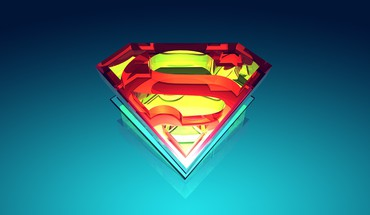 Justin Kleine Superman logo digital art Vektoren  HD wallpaper