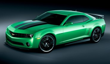 American chevrolet camaro green cars supercars vehicles HD wallpaper