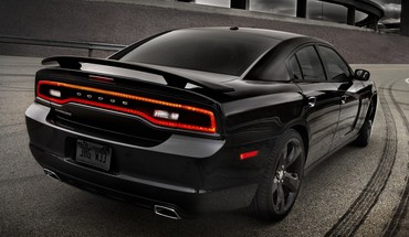 Cars vehicles dodge charger rear view HD wallpaper