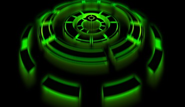 Chronoscope green HD wallpaper