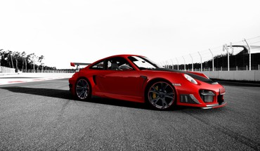 Porsche 911 RS GT2 TechArt voitures monochromes  HD wallpaper