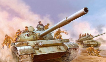 Army tanks HD wallpaper