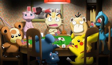 Meowth mew Pikachu Pokemon psyduck  HD wallpaper