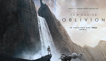 Tom cruise ruined city oblivion - movie HD wallpaper