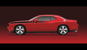 roues de performance challenger de Mopar Dodge  HD wallpaper