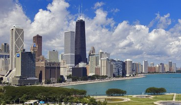 Čikagos Gold Coast Illinois vietos cityscapes  HD wallpaper