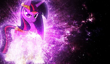 Twilight magic my little pony: friendship is HD wallpaper