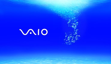 Vaio mėlyname fone  HD wallpaper