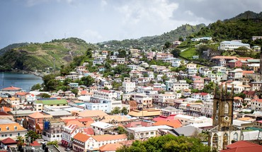 A grenadian village HD wallpaper