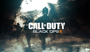 Call of Duty Black Ops 2 logotipų  HD wallpaper