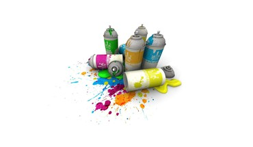 Grafiti spray paint HD wallpaper