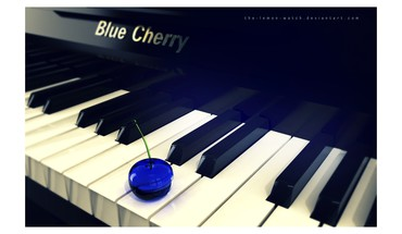 Piano blues watch HD wallpaper