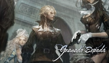Anime merginos Granado Espada  HD wallpaper
