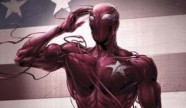 drapeau américain carnage Marvel Comics spiderman logo  HD wallpaper