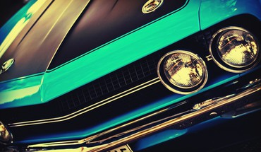 American cars challenger usa blue HD wallpaper