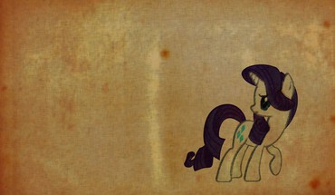 Paper old my little pony rarity HD wallpaper