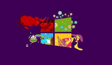 Purple windows 8 HD wallpaper