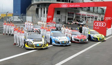 Cars audi races HD wallpaper