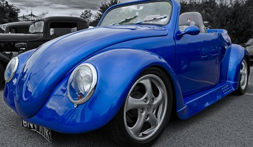 Custom vw beetle HD wallpaper