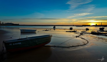 Spain boats landscapes nature sea HD wallpaper