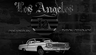 Los Andželas Chevy Impala Lowrider  HD wallpaper