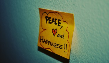 Notes paper peace text HD wallpaper