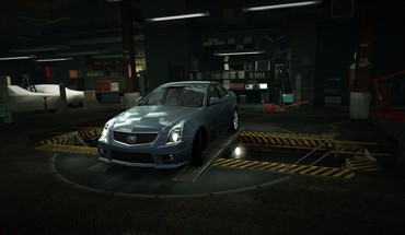 Need for Speed ​​Cadillac CTS garažo nfs  HD wallpaper