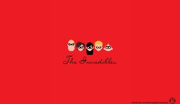 Pixar minimalistic animation the incredibles HD wallpaper