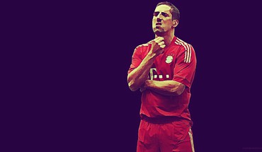 Professional stars football teams franck ribery player HD wallpaper