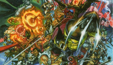 """Marvel vs Capcom 3 storm (komiksai simbolis)  HD wallpaper"