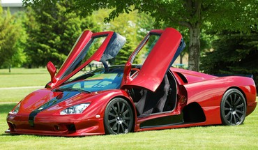 Voitures rouge sports Shelby Ultimate Aero supercar  HD wallpaper