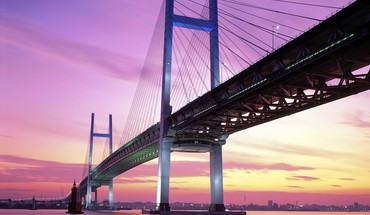 Japan cityscapes bridges yokohama HD wallpaper