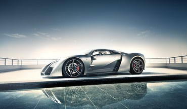 Automobiliai Supercars Marussia b2  HD wallpaper