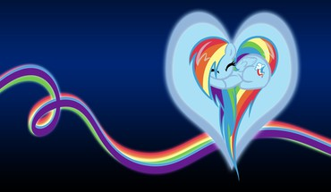 My little pony rainbow dash backgrounds HD wallpaper