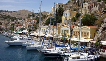 Gulf of symi HD wallpaper