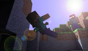 Minecraft swords HD wallpaper
