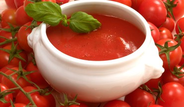 Lebensmittel Tomaten Tomatensuppe  HD wallpaper