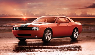 Dodge challenger srt8 automotive cars HD wallpaper