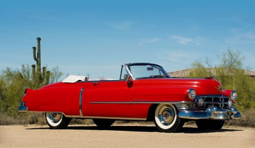 1952 cadillac sixty two convertible HD wallpaper