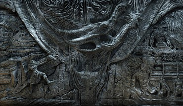 Alduin dovahkiin The Elder Scrolls prieš Skyrim basrelief  HD wallpaper