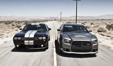 Dodge challenger srt8 charger cars muscle HD wallpaper