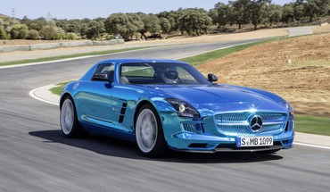 Elektriniai coupe 2014 SLS AMG mb mercedes  HD wallpaper