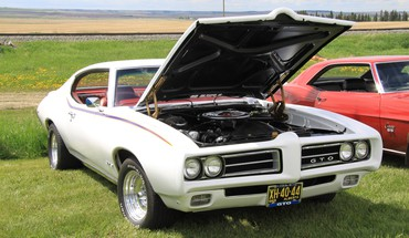 1969 Pontiac GTO  HD wallpaper