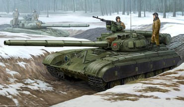 Military tanks artwork warsaw pact t-64 HD wallpaper