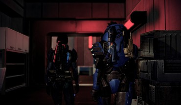 2 garrus vakarian femshep قائد شيبرد turian  HD wallpaper
