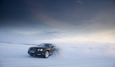 Cars snow HD wallpaper
